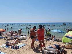 На Пляже Витязево