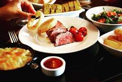 """A plate of Angus Steak is a joyful memory Forever"" #Angus#FilletSteak#PremiumSteak#MustTry"