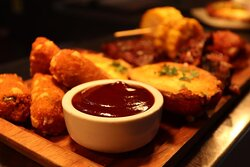 """""""Angus Steakhouse Platter"""" one of the best starter to share specially for BBQ lovers."""