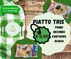 Risparmio con la stessa qualità, prova il piatto tris a € 9,90