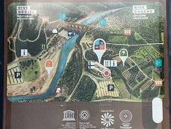 Pont du Gard Plan