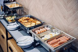 Завтраки с 7.00 до 11.00 в формате шведского стола