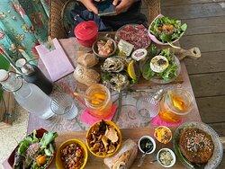Restau sympa avec du choix pour tous les goûts et tous les régimes alimentaires