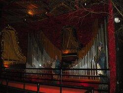 Part of the huge organ room