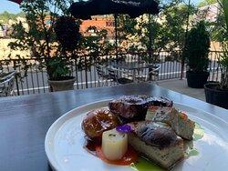 Strip steak with layered potato, leeks, crimini, cipollini with roast tomato and basil purees.  #garfieldrestaurants #bergencountyrestaurants #bergencountyfood #bergencountyfoodie #essexcountyrestaurants #essexcountyrestaurant #northjerseyrestaurants #northjerseyfood #northjerseyfoodie #njrestaurants #njrestaurant #njfood #njfoodie #njfoodies #njfoodblogger #njfoods #njfoodsnob #njfoodblog #njfoodbloggers #njfoodblog #njfoodporn #sexyfood #italianrestaurant #italianrestaurants #garfieldnj #garf