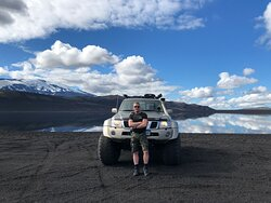 On the way to Hekla
