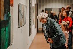 """Exhibition in collaboration with Mark Rothko art Centre in Daugavpils """"Opening"""", September 2020"""