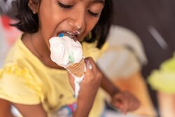 get messy with our ice cream