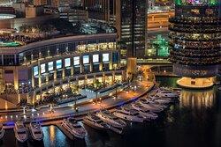 Explore 140 stores and 21 dining options at Dubai Marina mall