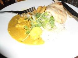 Chicken Korma at Passage House Inn.