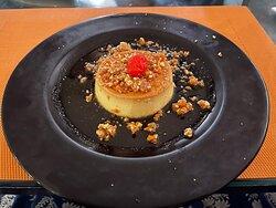 Nutty Caramel Custard @ Kebab-e-Bahar