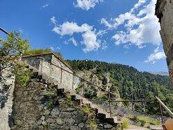 Bellissima giornata al Forte di Fenestrelle