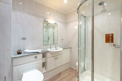 Shower room in 2 bedroom penthouse sea view apartment