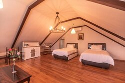 """This is Our """"Zinnia Family Room Type"""" (with a Special Ambience), which could use for 4 pax."""