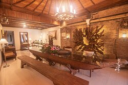 This is Our Common Room with Wooden Interior & Ambience, so boutique.