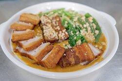 Kandelarya the Farm Kitchen - Crispy Pork Kare Kare