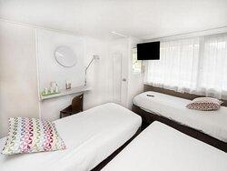 chambre triples, 3 lits simples