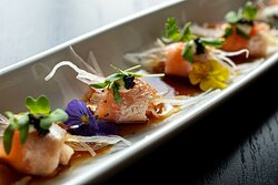MIZU combines the traditions of ancient Japanese cooking with Southern influences and Asian flavors.