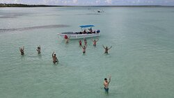 isola Saona, playa del canto. Foto e filmati  dal drone regalati da Franconero
