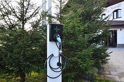 Type 2 charging station @ pensiunea Victoria Paltinis