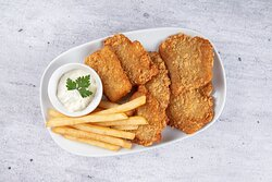 Fish & Chips at Curry Pot, Indian Restaurant in Al Ain.