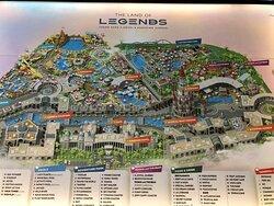 The Land of Legends Theme Park.