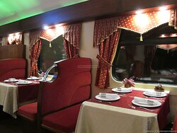 Grand express train St.Petersburg - Moscow