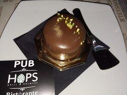 Mousse al pistacchio e cioccolato fondente by Marisa