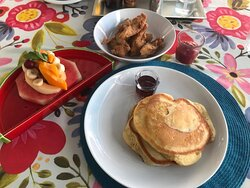 My special request for my last meal: pancakes and chicken