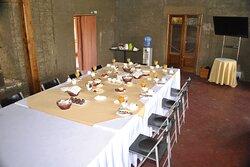 Comida en evento en Casona Violeta Restaurante