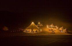 Glamping en el desierto de Ica