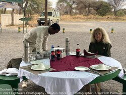 Gosheni Safaris' Version of a Safari Lunch