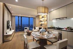 2-Bedroom Deluxe Living Room