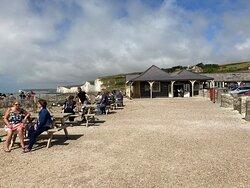2.  Birling Gap Cafe, Birling Gap, East Sussex