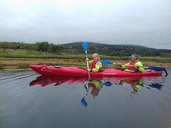 Kayak in Kenmare bay