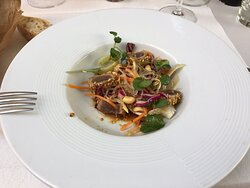 salade thai au thon mi-cuit