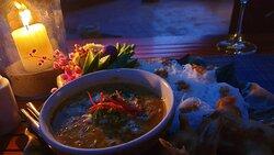 Dinner from Tawan restaurant