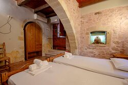 """""""Our Traditional Apartment FOURNOS offers an unforgettable experience due to its unique architectural beauty"""""""