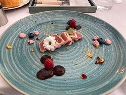 Tuna in Sesam