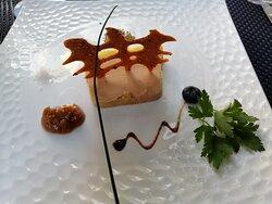 un foie gras maison succulent