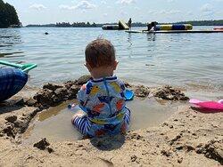 The very fun beach!