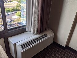 One of two AC units in Suite.