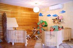 Детский уголок в кафе на Малом Пруду