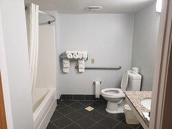 Bathroom in Handicap Accessible Double Bed Room