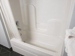 Bathtub in Handicap Accessible Double Bed Room