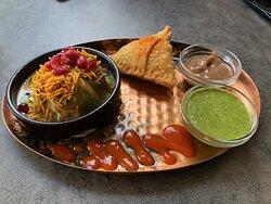 Voorgerecht - Vegetarian Thali Menu