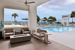 Outdoor Pool Side Seating