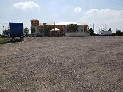 Plenty of Truck / Trailer parking