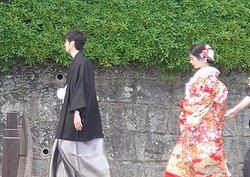 婚礼の参拝
