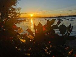 Sundowner im Seespitz